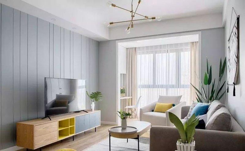 澳比德现代北欧风格家装案例 充分满足收纳需求-中华