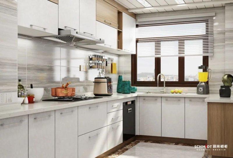 司米16套l型厨房设计案例 实用厨房设计-中华橱柜网图片