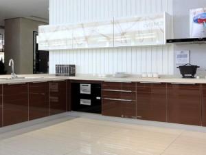 现代风格厨房整体橱柜设计图片 开放式厨房效果图