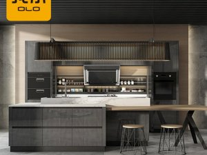 我乐厨柜-现代简约风格-伯尔尼