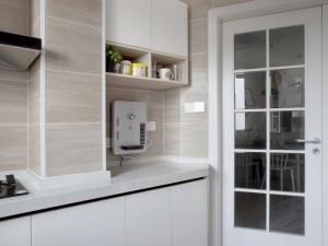 北欧小厨房装修效果图大全 白色整体橱柜设计图