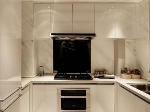 白色厨房效果图 白色装修橱柜效果图