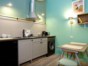 小户型公寓厨房图片 小面积厨房装修效果图