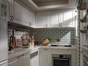 小户型厨房装修效果图 实用型定制橱柜图片