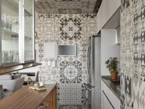 小户型厨房效果图 整体橱柜设计图片