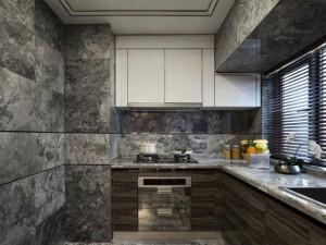 现代风豪华厨房设计效果图 橱柜效果图