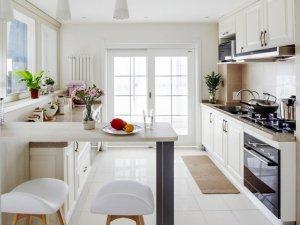 小户型开放式厨房设计效果图 橱柜效果图