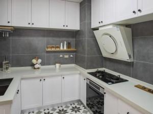 白色烤漆厨房橱柜效果图 橱柜效果图