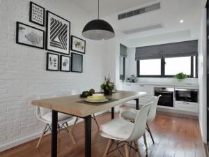北欧白色厨房设计图大全 橱柜效果图