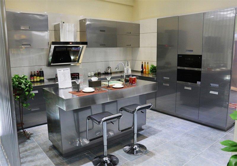 班贝格不锈钢厨柜图片-波登湖系列BD003