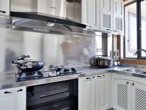 美式厨房装修效果图 橱柜效果图