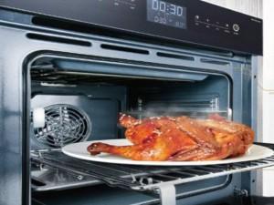 诗尼曼橱柜 简约风格嵌入式电烤箱效果图