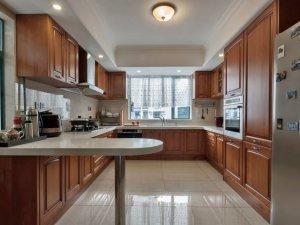 新中式大厨房装修效果图 橱柜效果图