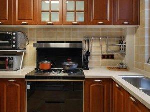 美式厨房整体橱柜图片 橱柜效果图