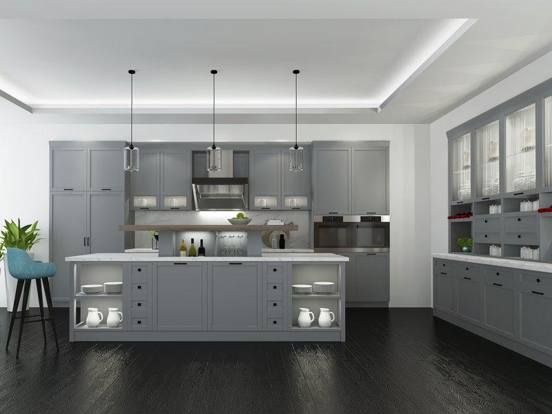 丽博橱柜全屋定制整体厨房新品—北欧印象