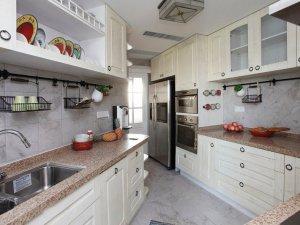 美式厨房设计图大全 橱柜效果图