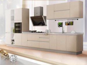 金牌厨柜效果图 现代简约厨柜华尔兹图片