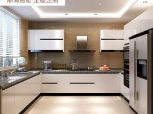 丽博整体橱柜定制厨房图片 现代风自由舰系列
