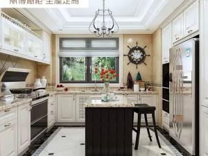 丽博整体橱柜定制厨房图片 简欧风白璧流遐Ⅱ系列