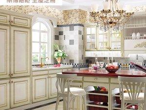 丽博整体橱柜定制厨房图片 古典主义托斯卡纳系列