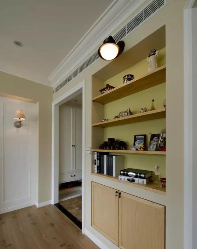 L型厨房橱柜效果图 白色厨柜图片