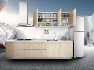 志邦厨柜效果图 现代风橱柜可可西里系列