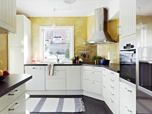 小户型厨房橱柜图片大全 白色橱柜效果图