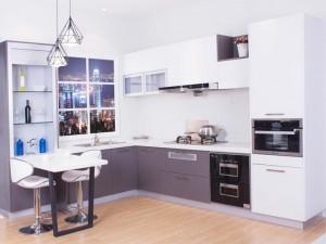 佰怡家橱柜效果图 现代风乐厨系列整体橱柜图片