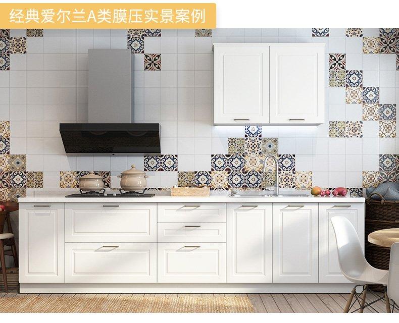 志邦厨柜效果图 一字型橱柜设计图大全