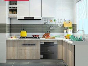尚品宅配橱柜2019上海厨卫展参展企业 开放式橱柜效果图