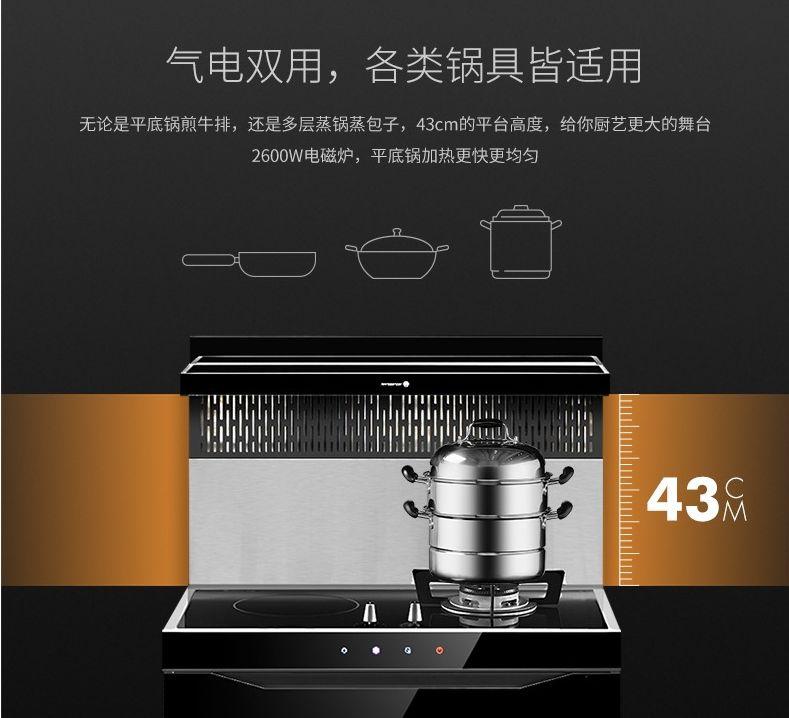 火星人集成灶E6B、E5B/Z系列产品及装修效果图