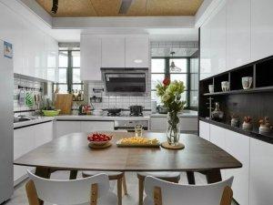 小户型厨房厨柜图片 北欧风橱柜设计效果图