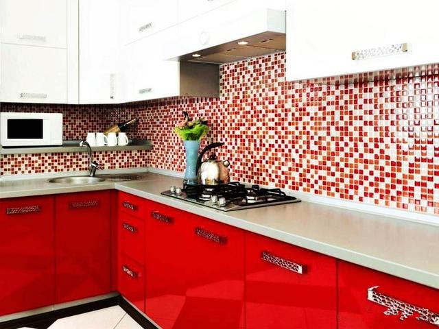 個性廚房櫥柜圖片 開放式櫥柜設計效果圖