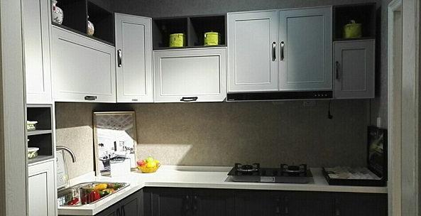 博西尼橱柜图片 橱柜台面石英石橱柜台面不锈钢橱柜台面 橱柜效果图