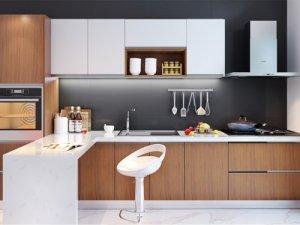 万格丽不锈钢整体厨房图片 开放式不锈钢橱柜效果图 风乐系列