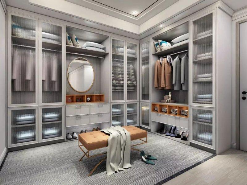簡歐風廚房櫥柜效果圖 白色櫥柜門圖片