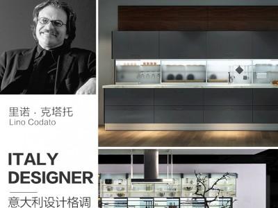 博洛尼橱柜效果图 歌帝梵系列简约厨房橱柜效果图