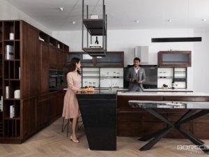 柏厨橱柜图片连理 新中式风格橱柜效果图