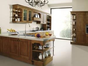 德宝西克曼厨电效果图 北美枫景系列美式橱柜图片
