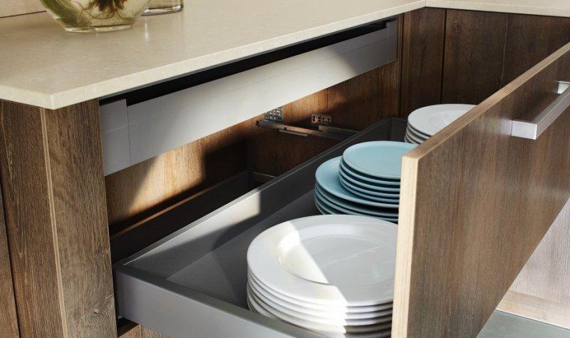 富力赛丽石图片 现代风格橱柜台面效果图