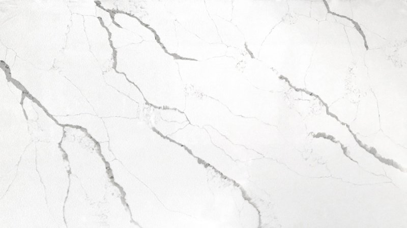 奧維人造石圖片OWS132 魚肚白 花紋系列石英石效果圖