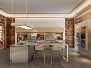 时哥集成灶图片 时哥新款T9集成灶厨房装修效果图