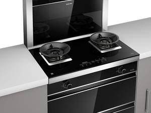 樱花整体厨房·衣柜图片烟灶消系列 现代风集成灶效果图