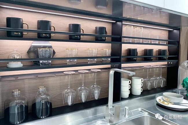 百能不锈钢橱柜图片瑞雪 现代风格橱柜效果图