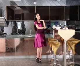 欧誉厨柜图片冰雕系列 现代风格橱柜效果图