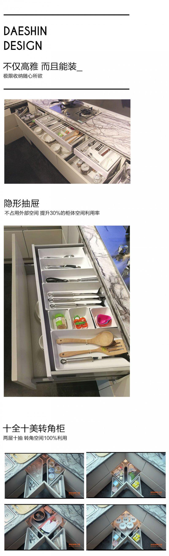大信家居红点奖获奖作品秀纳橱柜满足你对厨房的需求