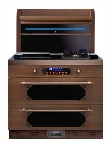 布加迪厨房电器图片 现代风格集成灶效果图