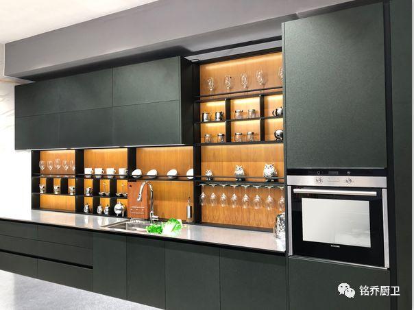 铭乔不锈钢厨柜图片柏林赫塔 现代风格橱柜效果图