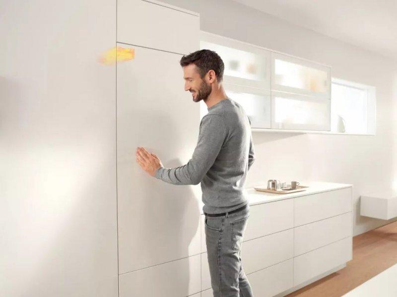 厨房收纳设计:隐藏的冰箱 你能找到它吗?