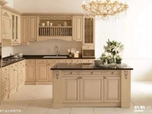 科勒橱柜图片费尔菲系列 欧式风格整体橱柜效果图